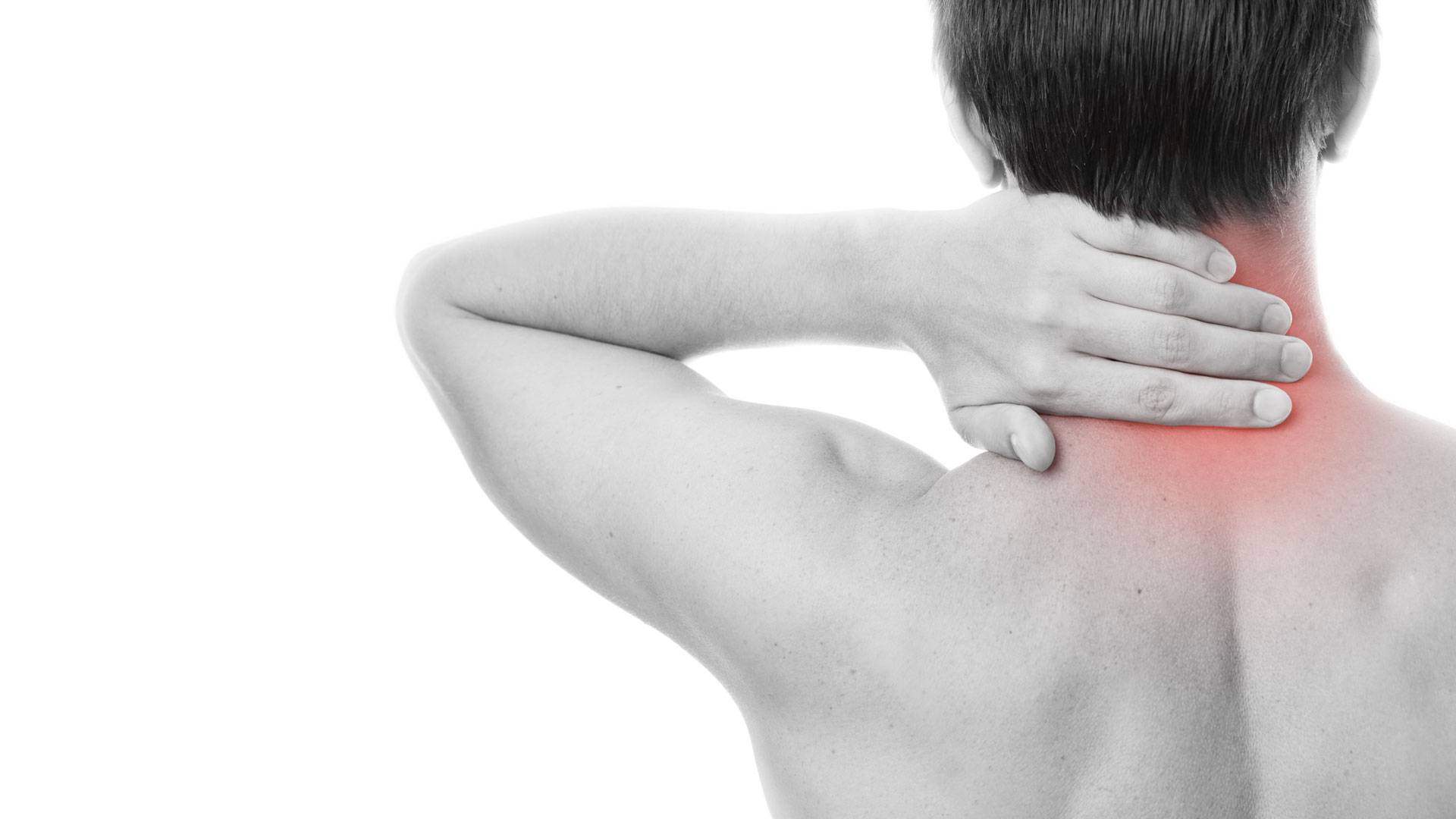 Muscle pain in the neck